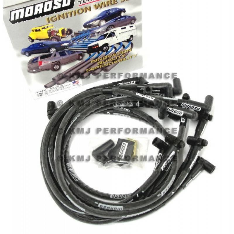 Magnum Braided Spark Plug Wires Blue #3047B