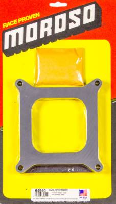 "Moroso - Moroso 1"" Carburetor Spacer 64940"