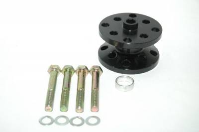 "Assault Racing Products - ARC 18175 1.75"" Billet Black Aluminum Universal Fan Spacer - Ford/Chevy Stock Car Modified"
