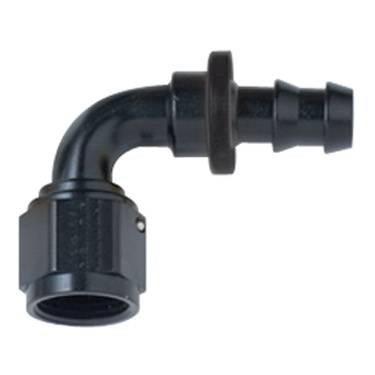 Fragola - -8AN to -6AN Fuel Cell Reducer Fitting-Black