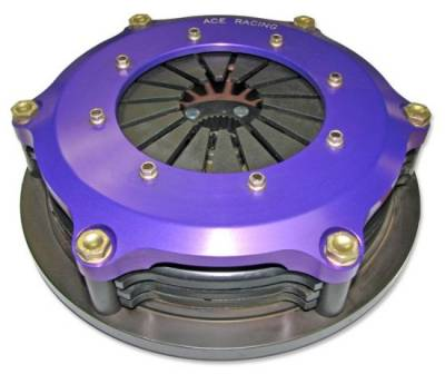 "Ace Manufacturing & Parts - ACE Racing R725003K2 7.25"" Button Clutch 2-Disc Assembly-1 1/8"" x 10 Spline"