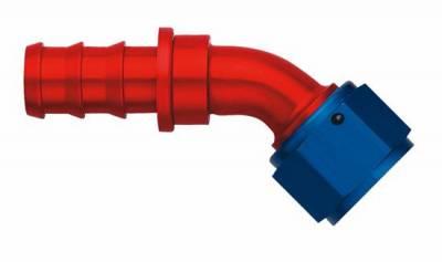 Aeroquip Performance Products - Aeroquip FCM1525 Alum 45 deg. Socketless Hose End (-12)