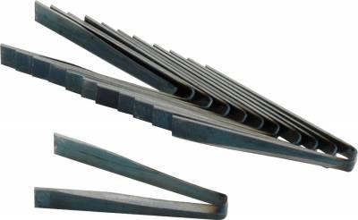 """AllStar Performance - Allstar 10271 #3 Flat Grooving Siping Iron Blades; 3/32""""-12-Pack"""