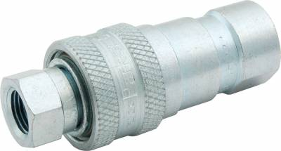"""AllStar Performance - Steel Quick Disconnect Coupling With 1/8"""" NPT Female Threads"""