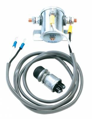 Longacre - Longacre Race Products 45800 Heavy Duty Starter Solenoid Kit w/ Starter Button