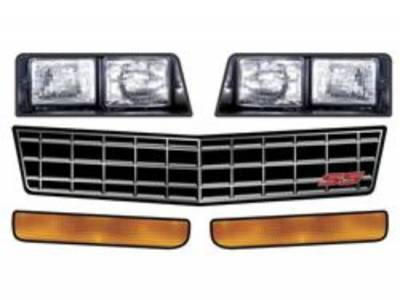 Performance Bodies - Performance Bodies D2100 Monte Carlo SS Headlight/Nose Id Graphics Kit