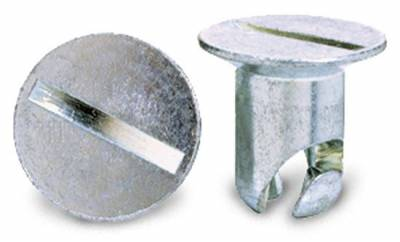 """Precision Racing Components - Steel Quick Fastener Buttons: 7/16"""" oval head: .500"""" grip"""