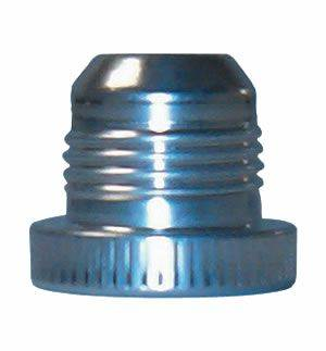 Precision Racing Components - Aluminum Threaded Dust Plug (-10 Dust Plug) FBM3658-1