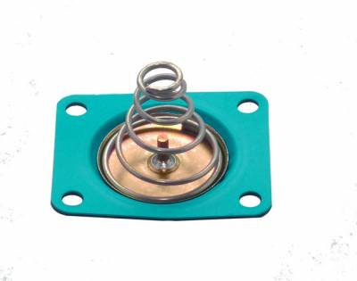 Quick Fuel Technologies - Replacement GFLT diaphragm with spring for alcohol applications. Compatible for use with other alternative fuels including gas and E85.