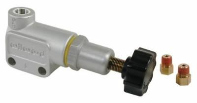 Wilwood - Wilwood 260-8419 Aluminum/Steel Knob Adjustable Disk Brake Proportioning Valve