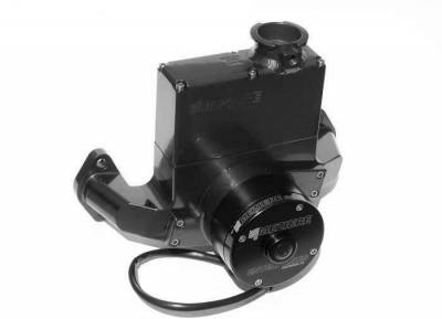 Meziere Enterprises - Meziere Reservoir Style BB Chevy Electric Water Pump-Black