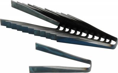 """AllStar Performance - Allstar 10273 #6 Flat Blades  6/32""""  12-Pack"""