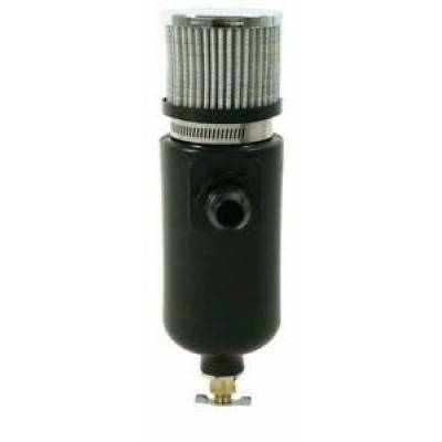 Moroso - Moroso 85402 Poly Breather Tank w/ 10AN Male Fitting and Breather Filter