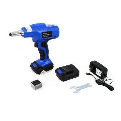 """Assault Racing Products - 14.4 Volt Li-ion Cordless Puller Rivet Gun Tool Set 1/8 3/32 5/32 3/16"""" Rivets"""