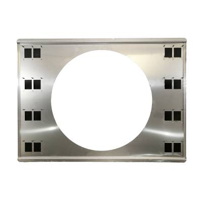 """Assault Racing Products - 18-3/4"""" x 25-3/4"""" Universal Aluminum 16"""" Fan Shroud Fits 31"""" Radiator Chevy Ford"""