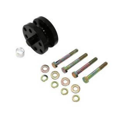"""Assault Racing Products - 1.25"""" Billet Black Aluminum Universal Fan Spacer - Ford/Chevy Stock Car Modified"""