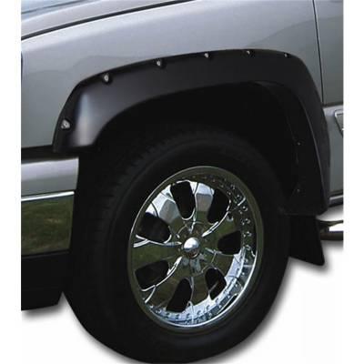 Stampede Automotive Accessories - 'Stampede 8416-2 Ruff Riderz Fender Flares 2007-2013 GMC Sierra 1500 6'' & 8'' Bed'
