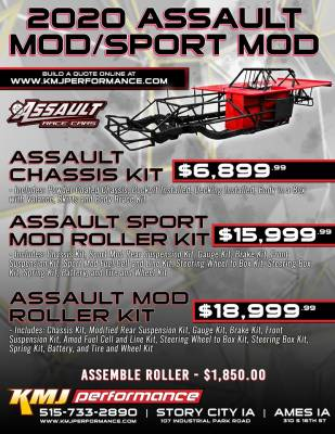 Assault RaceCars  - ASSAULT RACECARS MODIFIED OR SPORTMOD CHASSIS