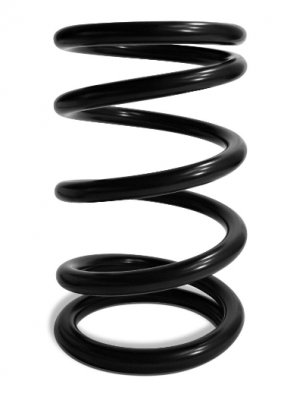 """AFCO - AFCO Racing Front Spring 5.5"""" x 9.5"""" 1000 pound AFCOIL® Black AFC 21000-1B"""