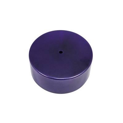 Assault Racing Products - Purple Billet Aluminum Carburetor Hat Carb Cover w/Dust O-Ring IMCA Holley SBC