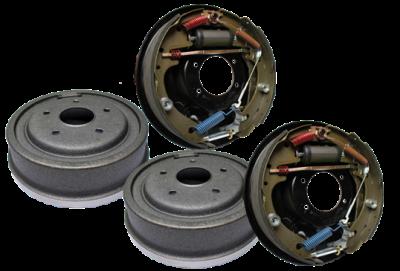 """PEM Racing - PEM Racing Drum Brake Kit - 5 X 4 3/4"""" - PEM DRUMBRAKEKIT3/8-NEW"""