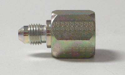 Fittings & Hoses - Brass - Steel Hose Ends - Aeroquip Performance Products - Steel reducer Female -10 to male -8