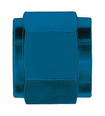 Aeroquip Performance Products - Aeroquip FCM3554 -3 AN Tube Nut (6 Per Pkg) Blue Anodized Aluminum