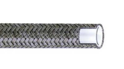 Steering - Power Steering Lines & Fittings - Aeroquip Performance Products - Teflon Hose - Size: -6 Stainless Steel Braided-Sold by the Foot