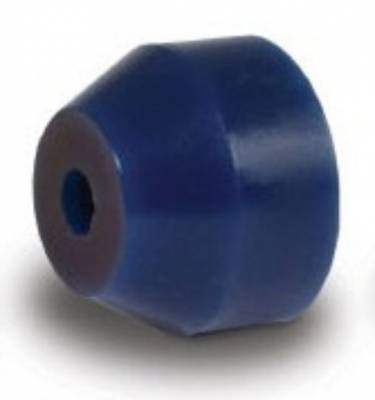 "Suspension & Shock Components - Pull Bars & Torque Links - AFCO - 3 3/8"" O.D. Blue Urethane Bushings for Torque Links"