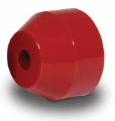 "Suspension & Shock Components - Pull Bars & Torque Links - AFCO - 3 3/8"" O.D. Red Urethane Bushings for Torque Link"