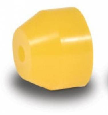 "Suspension & Shock Components - Pull Bars & Torque Links - AFCO - 3 3/8"" O.D. Yellow Urethane Bushings for Torque Links"