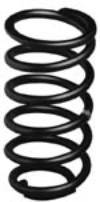 Coil Springs - Pigtail Rear Springs - AFCO - AFCO  25250PT 5 1/2 X 12. Rear 250lb Rate PIGTAIL 25250PT