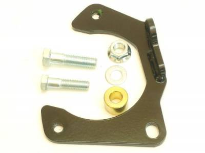 Brakes - Caliper Mount Brackets & Bolts - AFCO - AFCO  40122PL Hybrid Rotors Caliper Brackets-Left