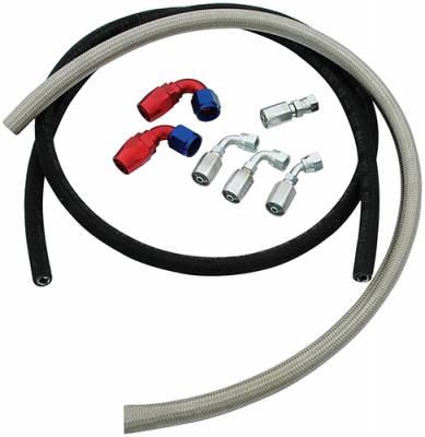 Steering - Power Steering Lines & Fittings - AllStar Performance - Allstar Power Steering Hose Kit
