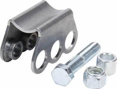 Suspension & Shock Components - Shock Mounts - AllStar Performance - Round Tube Shock Mount 3 Hole