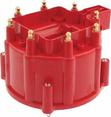 Distributors & Components - Distributor Cap & Rotor - AllStar Performance - Chevy HEI Replacement Distributor Cap - Red