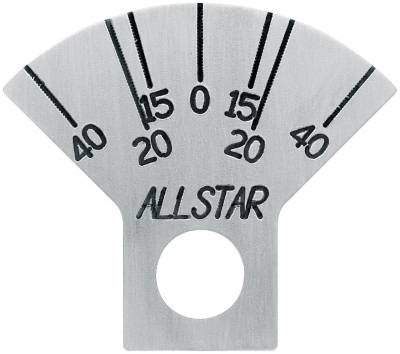 Suspension & Shock Components - Spindles - AllStar Performance - Caster Plate