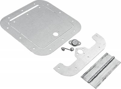 "Body Components - Body Panels, Nose Pieces & Components - AllStar Performance - 8"" x 8"" Clear Access Panel Kit"