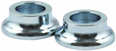 "Steering & Suspension - Rod Ends, Spacers & Jam Nuts - AllStar Performance - 3/8"" Long- 1/2"" ID Steel Tapered Spacers -2-Pack"