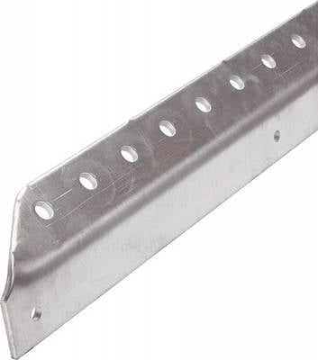 "Body Components - Body Fasteners, Brackets & Braces - AllStar Performance - Allstar 23130 26"" Long Slotted Angle Aluminum-1"" Wide"