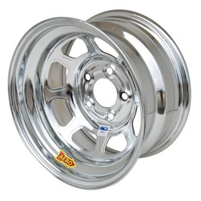 "Aero Race Wheels - Aero Wheels 52-285040 Chrome 15"" x 8"" - 5 x 5"" Pattern - 4"" Back Spacing"