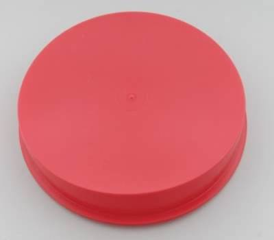 Circle Track - Wheel Covers & Rings - Aero Race Wheels - Red Center Cap for Mudbuster