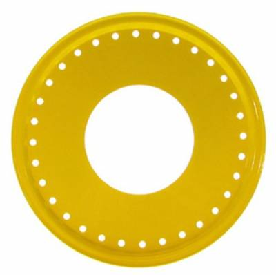 Circle Track - Wheel Covers & Rings - Aero Race Wheels - Aero Race Wheels 54-500001 Yellow Aero Mudbuster Beadlock Cover Ring