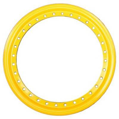 Aero Race Wheels - Yellow Aero Beadlock Ring