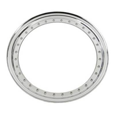 Circle Track - Wheel Covers & Rings - Aero Race Wheels - Chrome Aero Beadlock Ring