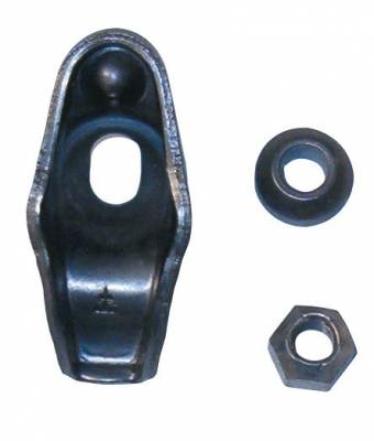 Valvetrain & Camshaft Components - Rocker Arms - Elgin Industries - Elgin Stamped Steel Rocker Arms stock SBC; Fits 3/8 stud