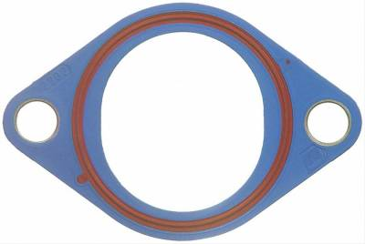 """Cooling - Gaskets - Fel-Pro Gaskets - Fel-Pro Water Pump and Outlet Gaskets - 1/8"""" Plastic Molded Rubber Reusable"""