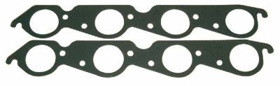 Headers & Exhaust  - Exhaust Manifold & Header Gaskets - Fel-Pro Gaskets - FEL-Pro Intake Gaskets Exhaust usage SBC Brodix Track 1-D port