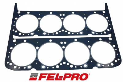 """Engine Gaskets - Cylinder Head Gaskets - Fel-Pro Gaskets - Fel-Pro Performance Head Gaskets Bore 4.190""""- Thickness .041"""" Volume 9.2cc Sold as a Pair"""