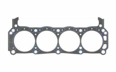 """Engine Gaskets - Cylinder Head Gaskets - Fel-Pro Gaskets - Fel-Pro SBF 302-351W Head Gaskets w/ .039"""" Compressed Thickness"""